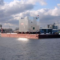 Steel Producer Converts Waste Gas to Steam – Barge Shipped D-Boiler